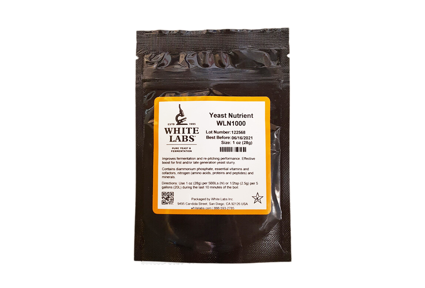 White Labs Yeast Nutrient