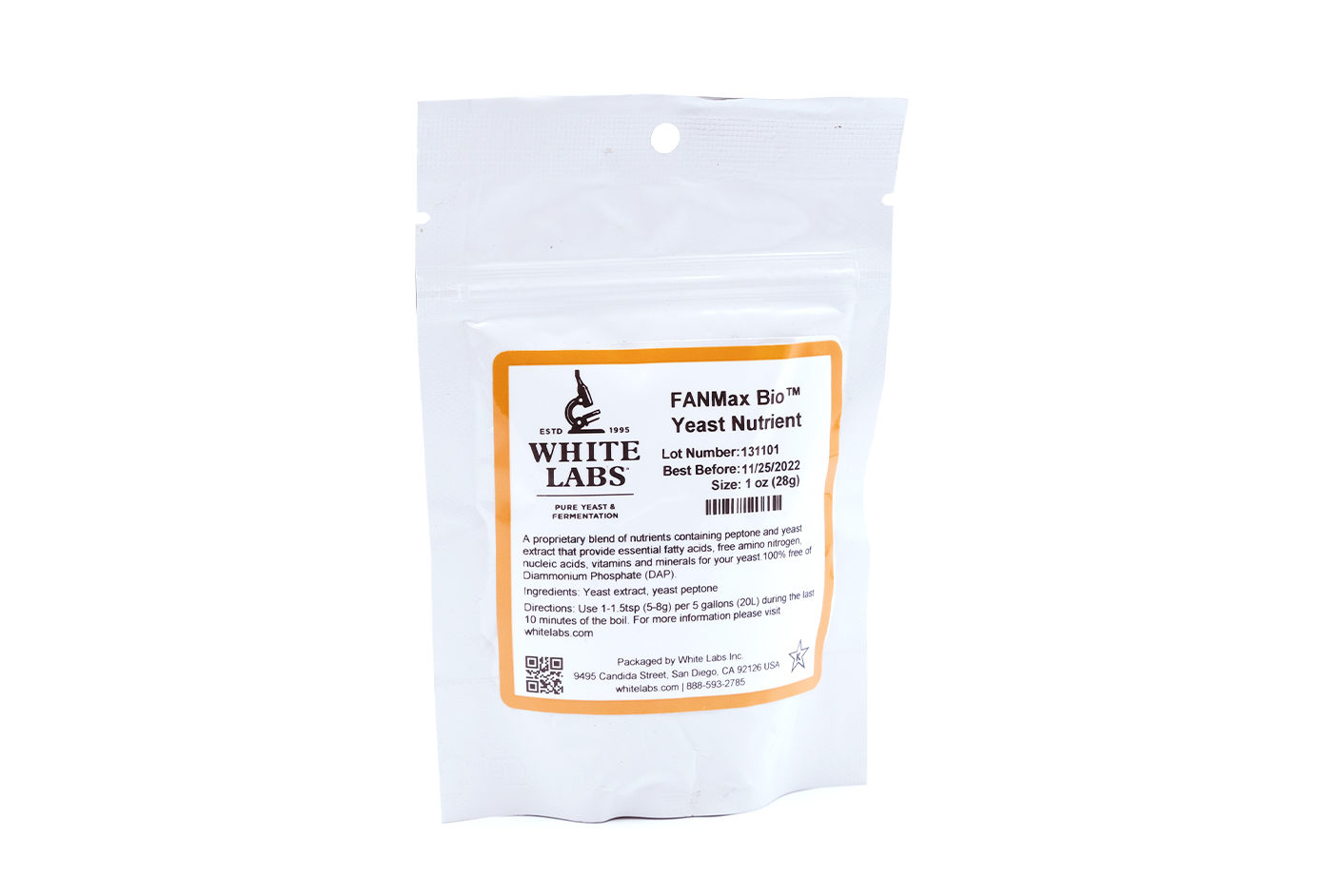 FANMax Bio™ Yeast Nutrient