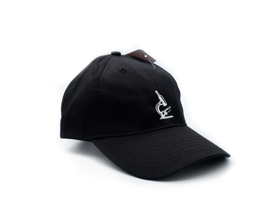 Black Microscope Hat