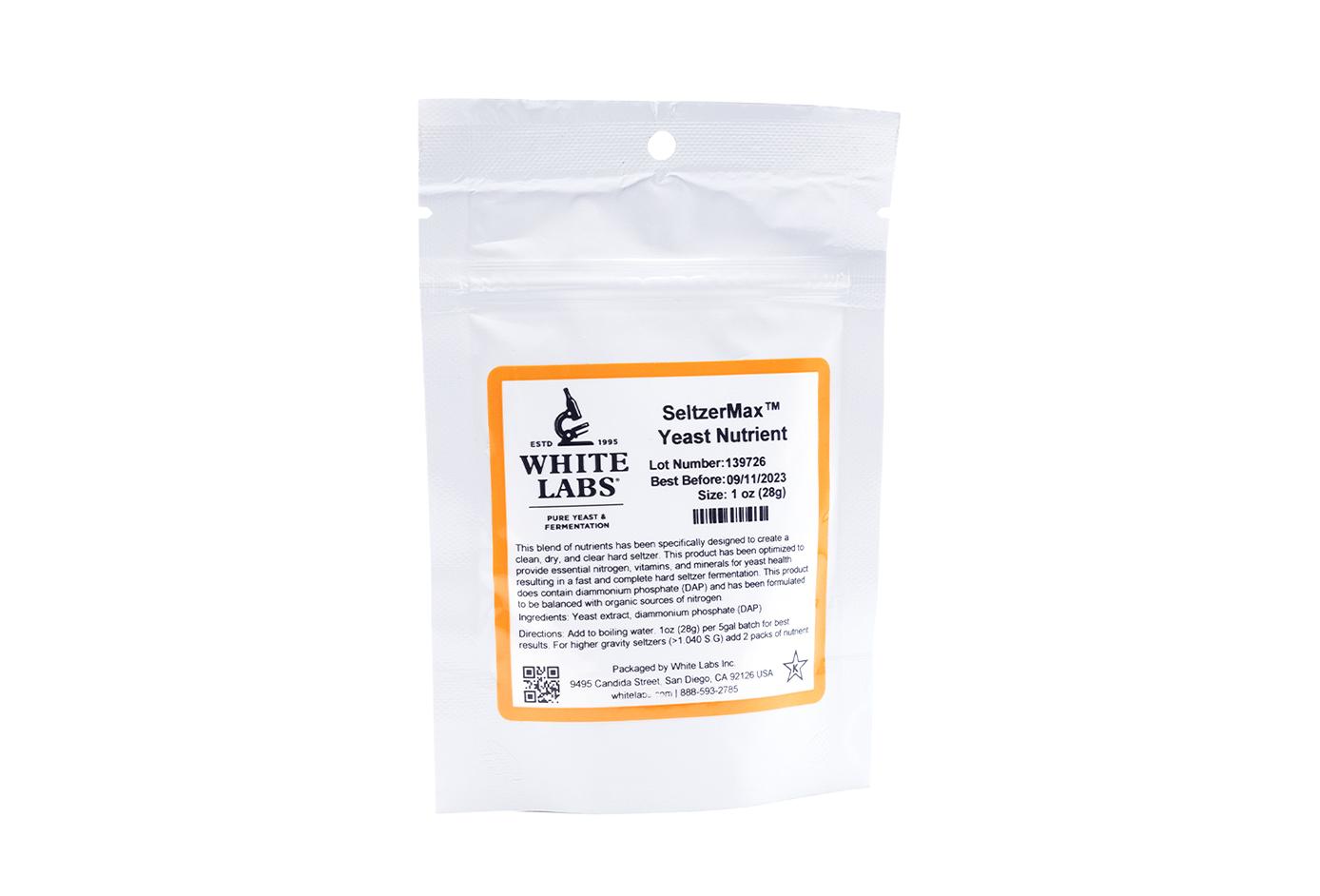SeltzerMax Yeast Nutrient