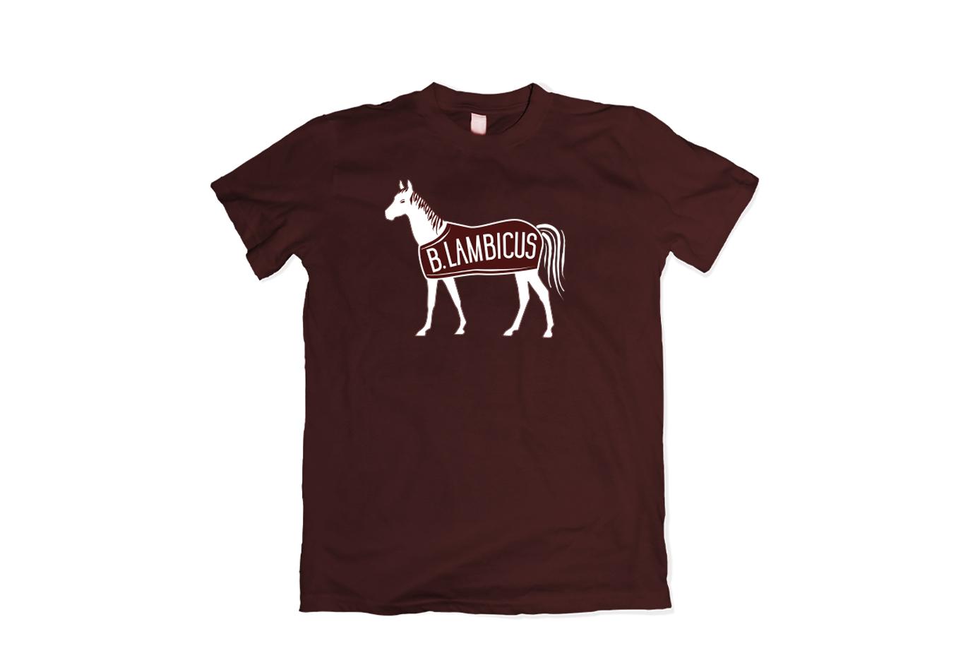Unisex B.Lambicus Horse Blanket T-Shirt