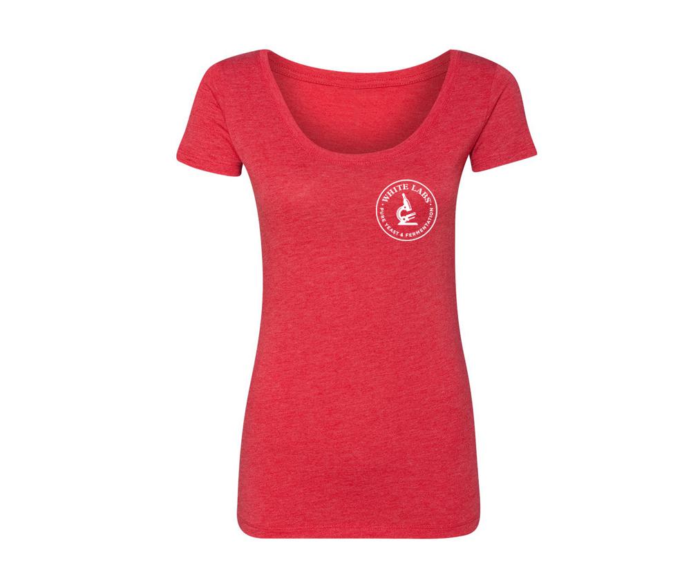 Women's Vintage Red T