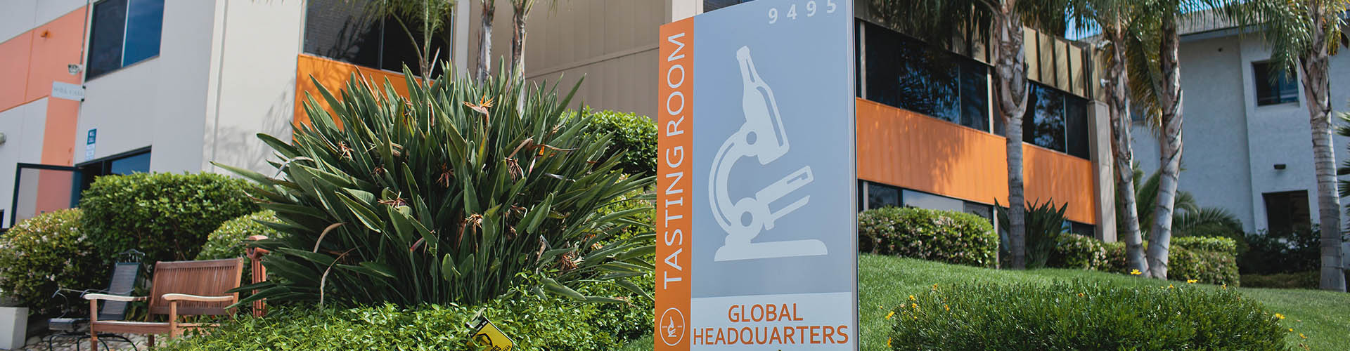 Image of White Labs sign at Global Headquarters