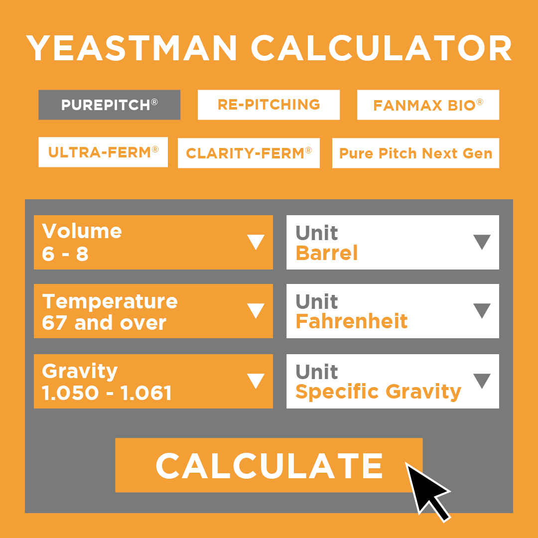 Yeastman calculator graphic