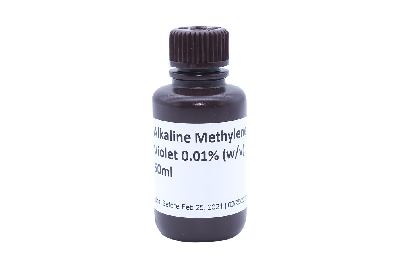 Alkaline Methylene Violet 0.01% (w/v) 50mL