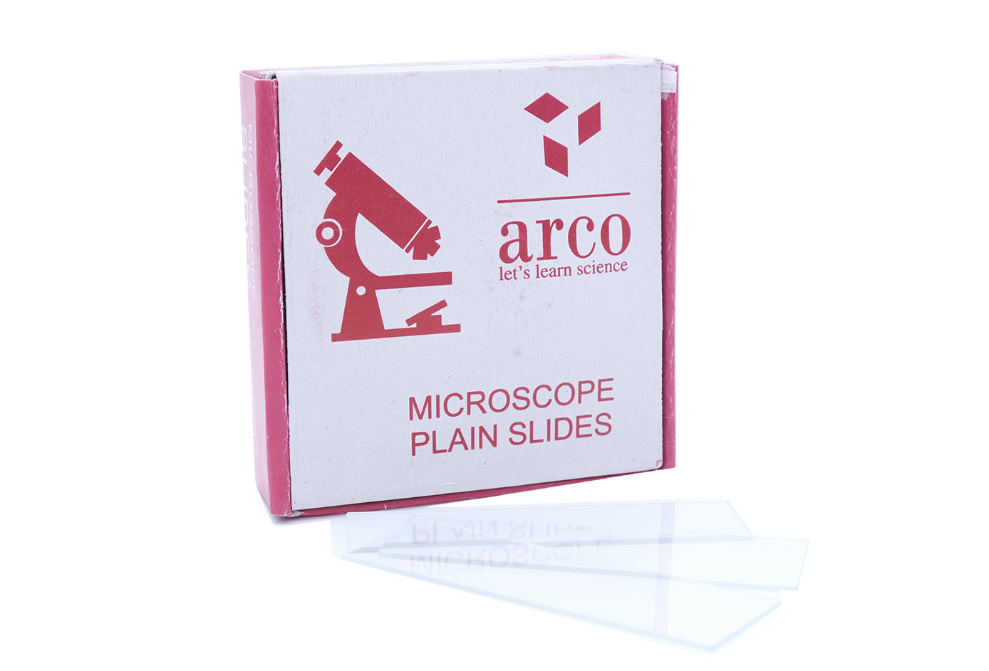 Microscope Slides: Frosted